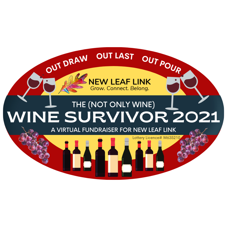 Wine Survivor 2021 Logo with Lottery Licence Number